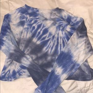 Tie dyed top